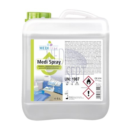 Medi Sept MEDI SPRAY 1 L- PŁYN - NEUTRAL