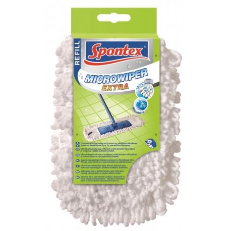 Mop płaski Microwiper Extra Spontex zapas