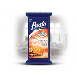 Presto Ściereczki uniwersalne o zapachu cynamonu i pomarańczy