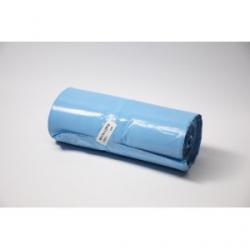 Worki LDPE 160l a'25 niebieskie