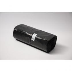 Worki LDPE 160l a'25 czarne