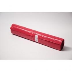 Worki LDPE 120l a'25 czerwone