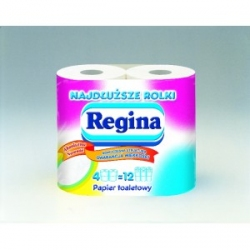 Papier toaletowy Regina Mega Długa Rolka a'4