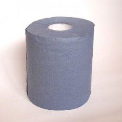 Ręcznik niebieski 19 cm makulatura