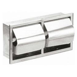 Wnękowy pojemnik na papier toaletowy podwójny SN P